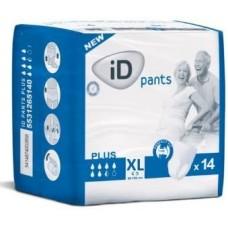 iD Pants Plus X-Large, mobilne hlačke za inkotinenco (14 hlačk)