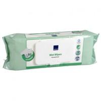 Abena Skincare neodišavljeni čistilni robčki - vrečka (80 robčkov)