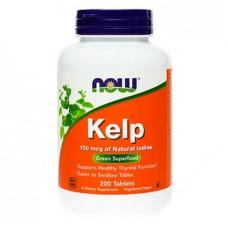 Kelp Jod NOW, tablete (200 tablet)