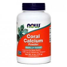 Koralni kalcij v prahu NOW (170 g)