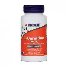 L-karnitin NOW, kapsule (60 kapsul)