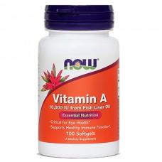 Vitamin A NOW (100 kapsul)