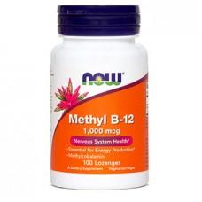 Vitamin B-12 1000 µg NOW (100 žvečljivih tablet)