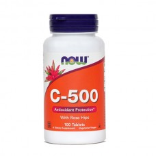 Vitamin C 500 mg NOW, tablete (100 tablet)