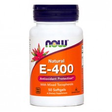 Vitamin E-400 NOW, kapsule (50 kapsul)